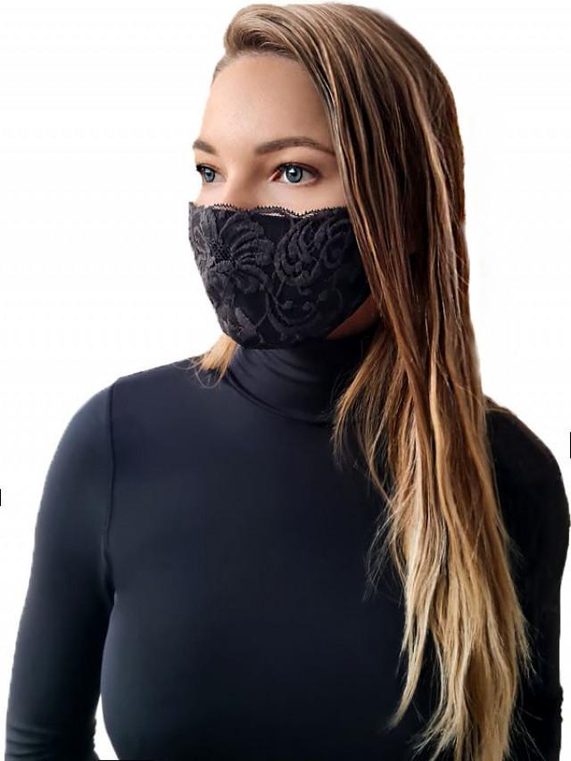Face mask. Color: black