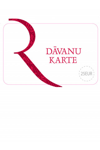 Gift card 25Eur