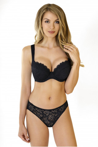 Bra Anette. Color:  black.