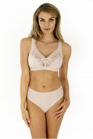 Bra Galla. Color: beige.