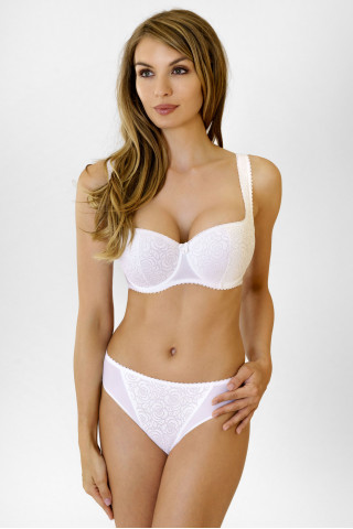 Bra Annija. Color: white.