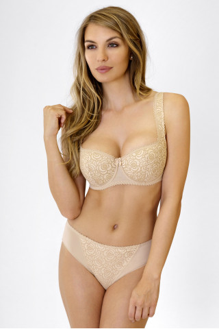 Bra Annija. Color:  beige.