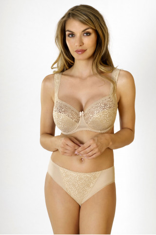 Briefs Annija. Color: beige.
