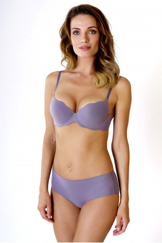 Briefs - shorts Seamless Soft. color: violet.
