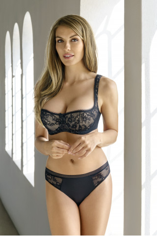 Bra Eliza. Color: black.