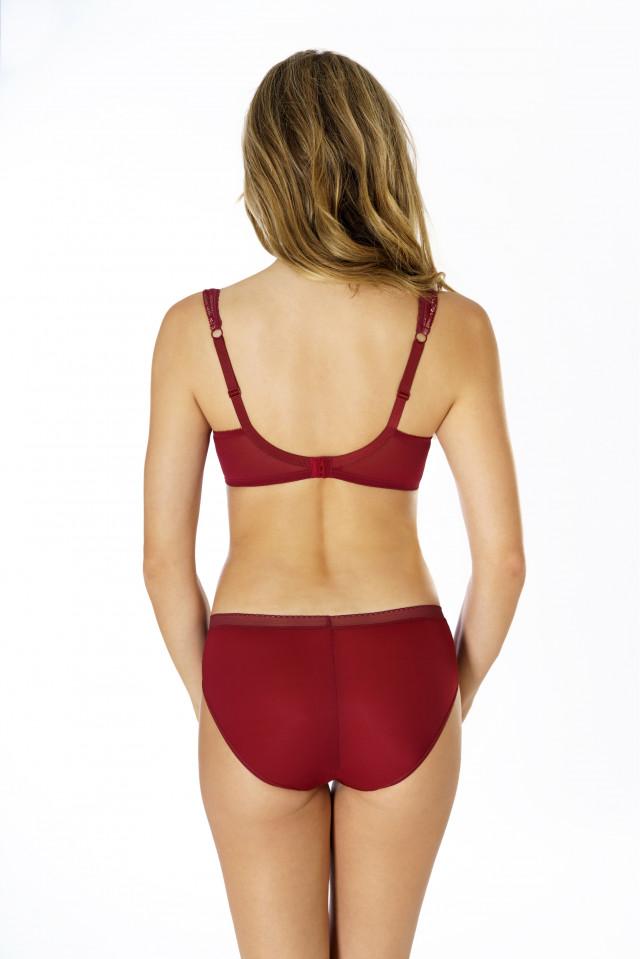 Briefs Eliza. Color: garnet red.