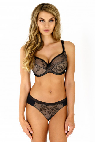 Bra Laura. Color: black.