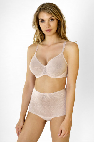 Bra Powerlace. Color: beige.