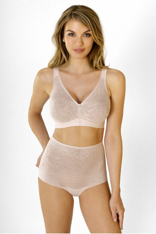 Briefs Powerlace. Color: beige.