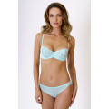 Bra True Romance. Color: light blue.