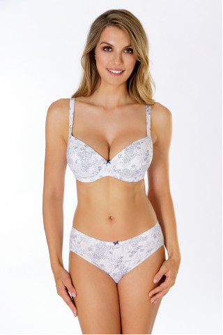 Bra Fresh Cotton. Color: white