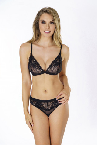 Briefs-strings Flirty. Color: black.