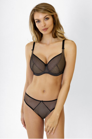Bra Kamila. Color:  black.