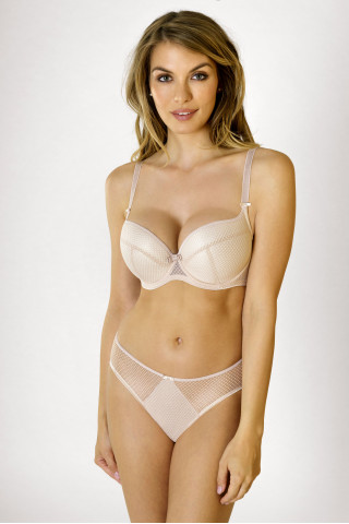 Briefs Kamila. Color: beige.