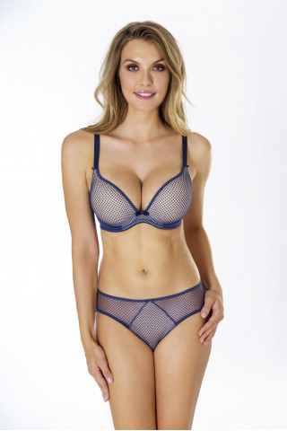 Briefs Kamila. Color: sapphire blue.