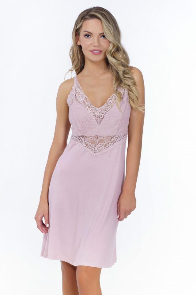 Nightdress Pastel rose. Color: pastel pink