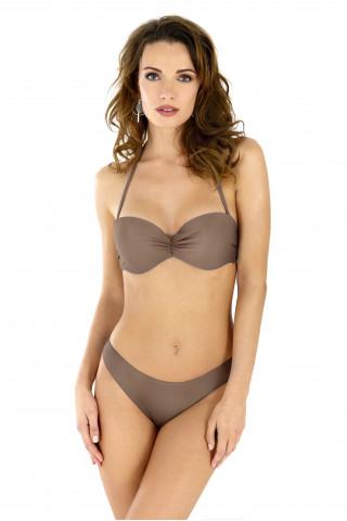 Bikini top Fiji. Color: brown.