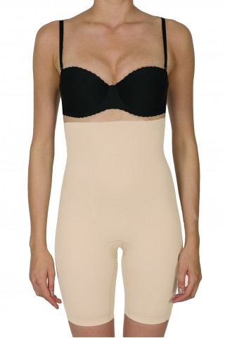 Shapewear pants. Color: beige.