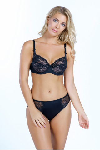 Bra Astrid. Color: black.