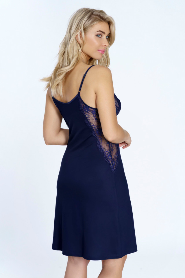 Nightdress Ombre midnight. Color: navy blue.