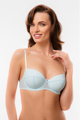 Bra Sea breeze. Color:  blue.