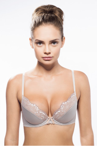 Bra Moon stone. Color:  Silvery.
