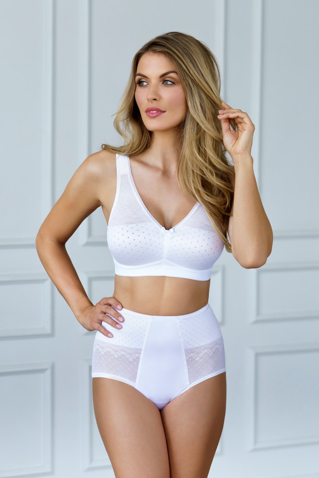Bra Divine. Color: White.