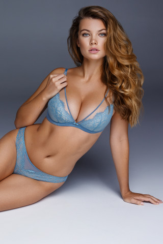 Bra Jessica. Color: arctic blue.