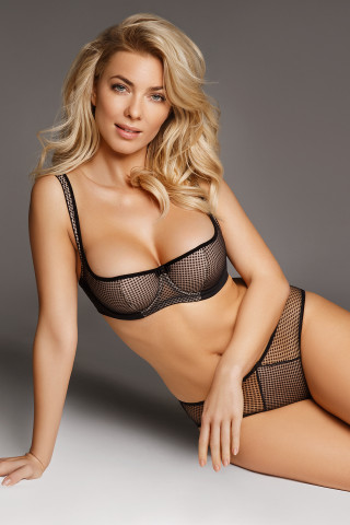 Bra Kamilla. Color: black.